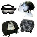 Очки, забрала, подшлемники, ремкомплекты для шлемов